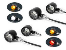 Set of 4 Integrated LED Motorbike Indicators with Stop Tail Lights and Driving Lights