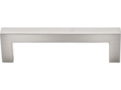 "3 3/4"" Square Bar Pull - Brushed Satin Nickel TKM1161 (TKM1161)"