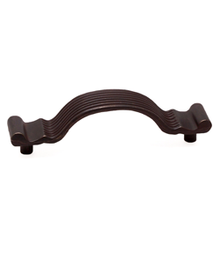 "3 5/16"" Bronze Pull with Rust Glaze BE1613-1RBG-P (BE1613-1RBG-P)"