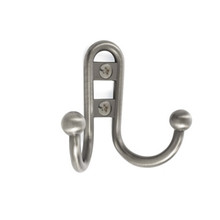 Double Prong Robe Hook (CH55457) (AMCH55457)