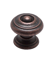 Knob 30mm M4 Rustic Copper BE2983-1RC-C (BE2983-1RC-C)