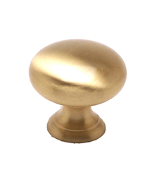 Knob - Satin Brass BE9955-1SB-P (BE9955-1SB-P)