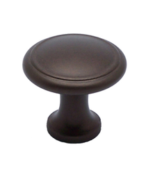 """Knob W/Ring 1-1/8"""" Oil Rubbed Bronze BE7879-1ORB-P (BE7879-1ORB-P)"""