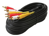 12-Feet St VCR Cable Gold RG59 and 2x Shielded