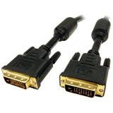 DVI-D Male/Male Dual Link Digital Video Cable,Black (3 Meter/9.84 Feet)
