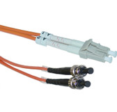 MTRJ/ST 5-Meters Multimode Duplex Fiber Optic Cable 62.5/125, (CNE73590)