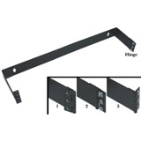 1.75 x 19 x 4 Inches 1 Unit Patch Panel Hinged Wall Bracket