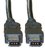 3-Foot Fire Wire 400 6-Pin Cable, IEEE-1394a (CNE25538)