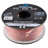 (100 Feet) 16AWG Enhanced Loud Oxygen-Free Copper Speaker Wire Cable (Copper)