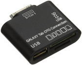 C&E OEM USB OTG Connection Kit and Card Reader for Samsung Galaxy Tab 10.1 P7500 P7510 Black