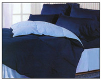 2-side 2-tone Convertible Waterbed and Standard Bed Comforter Set
