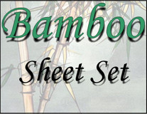London Bridge Linens Bamboo T-300 Waterbed Sheet Set|london bridge linens, t300, bamboo, sheet sets