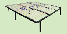 Swiss Pro (Euro Base) Slat Platform Bed Frame with Adjustable Firmness|boyd specialty sleep, bed frames, platform bed, swiss pro, adjustable firmness, euro base