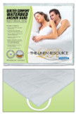 Innomax Quilted Comfort Waterbed Anchor Band Custom Fit Mattress Pad