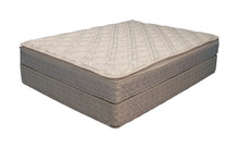 Softside Organic Waterbed Mattress Unbridled dual zone comfort by Strobel