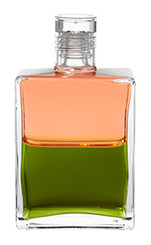 B92 - Gretel Pale Coral / Olive Green