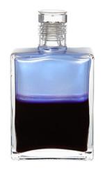B103 - Archangel Haniel Opalescent Pale Blue / Deep Magenta