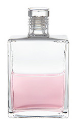B11 - The Essene Bottle1 / Chain of Flowers Clear / Pink