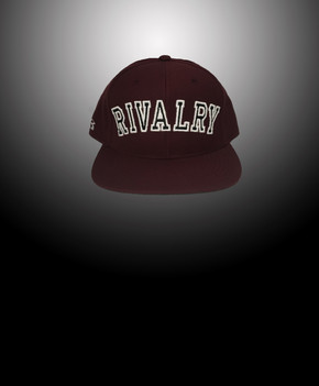 Rivalry Arch Snapback (Burgundy)
