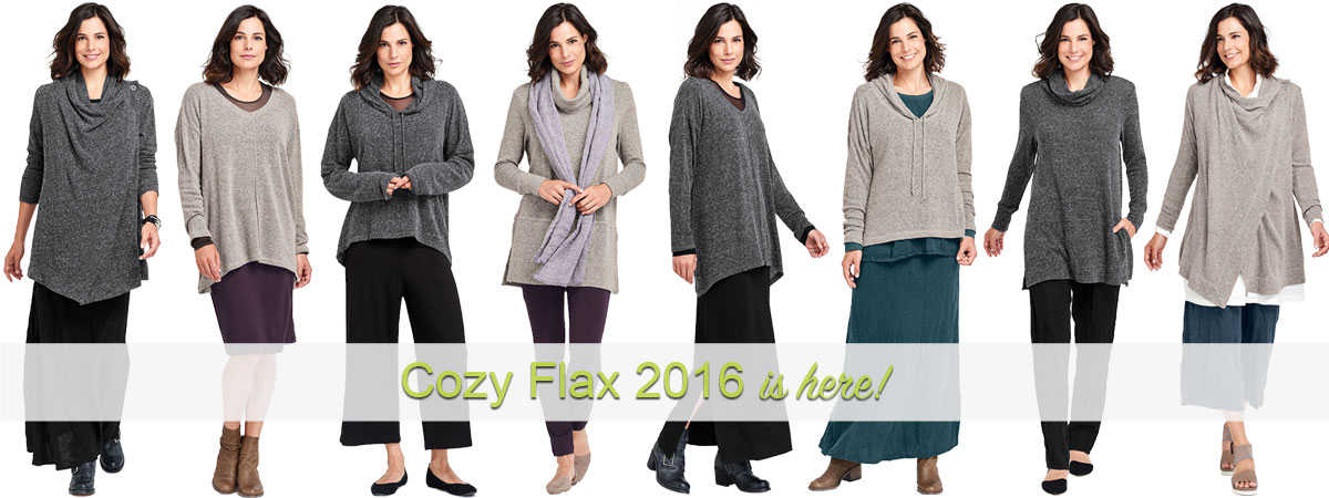Cozy FLAX 2016 Collection