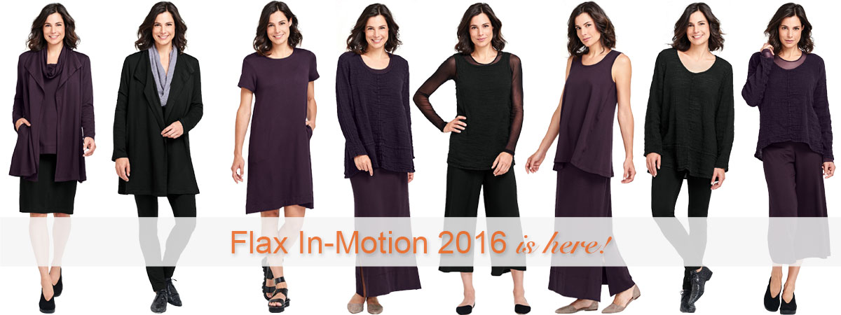 FLAX In-Motion 2016 Collection