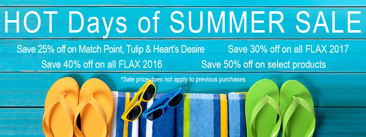 Hot days of summer sale