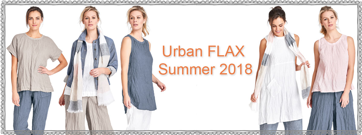 Urban FLAX Summer 2018