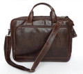 """Newcastle"" Men's Soft Leather Classic Laptop Briefcase"
