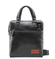 "Feger ""Grand Via"" Men's Fine Leather Shoulder Bag & Tablet Case"