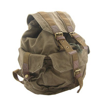 OD Army Green Canvas Backpack