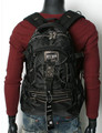 Men's Rugged Trendy Multi-purpose Backpack - Black