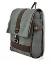 ON SALE! Men's Trendy Schoolboy Bookbag & Backpack - Grey