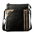 "Feger ""Edmonton"" Men's Fine Leather Shoulder Bag & Tablet Case"