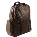 """San Elijo"" Vintage Leather Travel Backpack & Daypack"