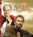 THE AGONY AND THE ECSTASY - DVD with Charlton Heston and Rex Harrison