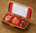 Regal Music Box Filled with 23K Gold, Real Frankincense & Myrrh