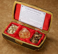 Regal Music Box Filled with 23K Gold, Real Frankincense & Myrrh