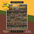 JERUSALEM - FOLK ART - PUZZLE - 500 Pieces