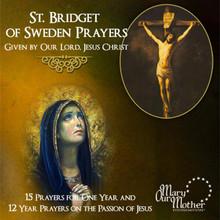 ST. BRIDGET OF SWEDEN PRAYERS - CD
