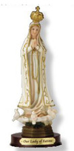 OUR LADY OF FATIMA  STATUE - 8 INCH