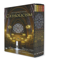 CATHOLICISM -DVD Box Set-Journey Around The World and Deep Into Faith with Bishop Robert Barron