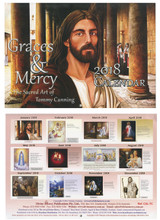 Graces and Mercy - 2018 Tommy Canning Art Calendar
