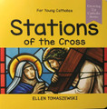 STATIONS OF THE CROSS - Roman Catholic Picture Book by Ellen Tomaszewski