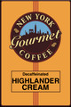 Decaffeinated Highlander Cream Coffee