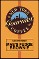 Decaffeinated Mae's Fudge Brownie
