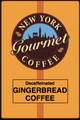 Decaffeinated Gingerbread Coffee