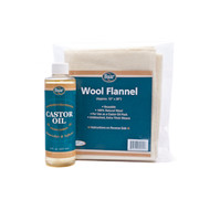Castor Oil and Wool Flannel