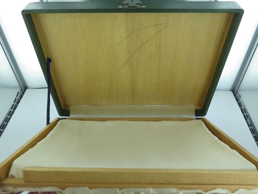SUPER RARE EARLY 1900s JAPANESE 950 STERLING SILVER SMOKERS SET IN ORIGINAL CASE