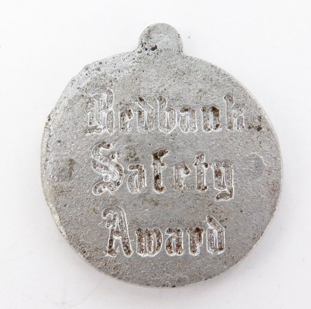 Most unusual QR Rail Redbank Safety Award medallion / mold