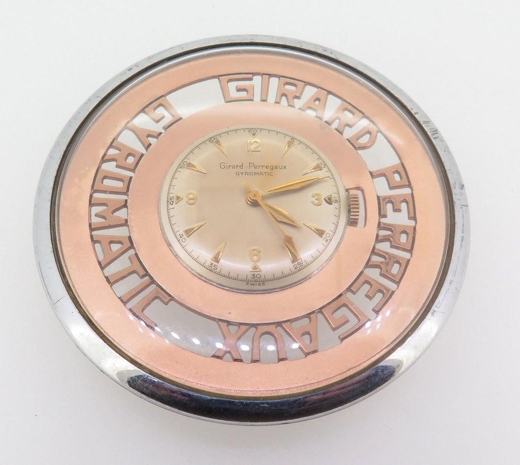 Rare Girard Perregaux Gyromatic movement & dial (salesmens sample)